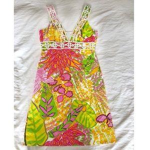 Trina Turk Retro Mini Dress 🌺